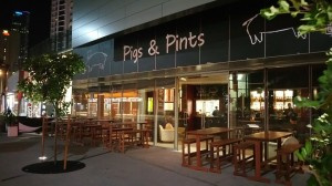 Pigs and Pints Surfers Paradise Exterior - By Open Projects  - Gold Coast / Brisbane Shopfitting